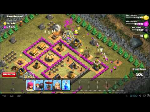 Clash of Clans Jump Around 3 Star Campaign Guide: TH7 Strategy