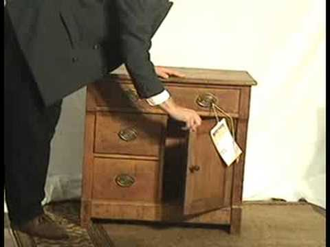 Chippendale Oak Dry Sink Victorian Primitive Youtube