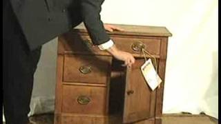 Chippendale Oak Dry Sink (victorian/primitive)