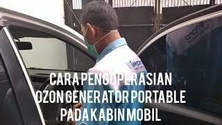 Penggunaan Ozone Generator untuk Mensterilkan Kabin Mobil