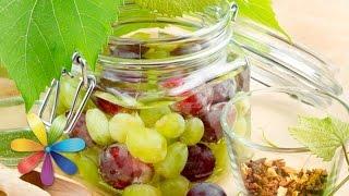 Делаем маринованный виноград и виноградный уксус - Все буде добре - Выпуск 647 - 05.08.15