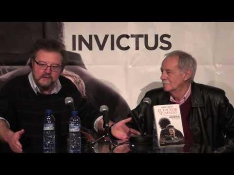 John Carlin i Eduardo Mendoza presenten Invictus