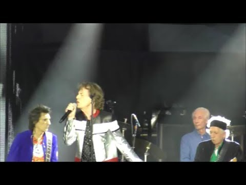 Paint it, Black   The Rolling Stones Live in London 22nd May 2018