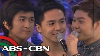 Repeat youtube video All grown up, 'Little Big Star' boys reunite on 'GGV'
