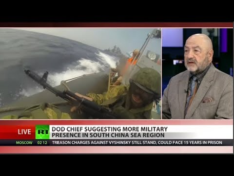 Why is US militarizing trade war with China?