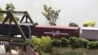 Moss Vale, HO Australian Model Railway Layout  NSWGR