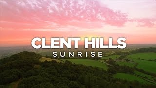 Clent Hills Sunrise - Drone Footage