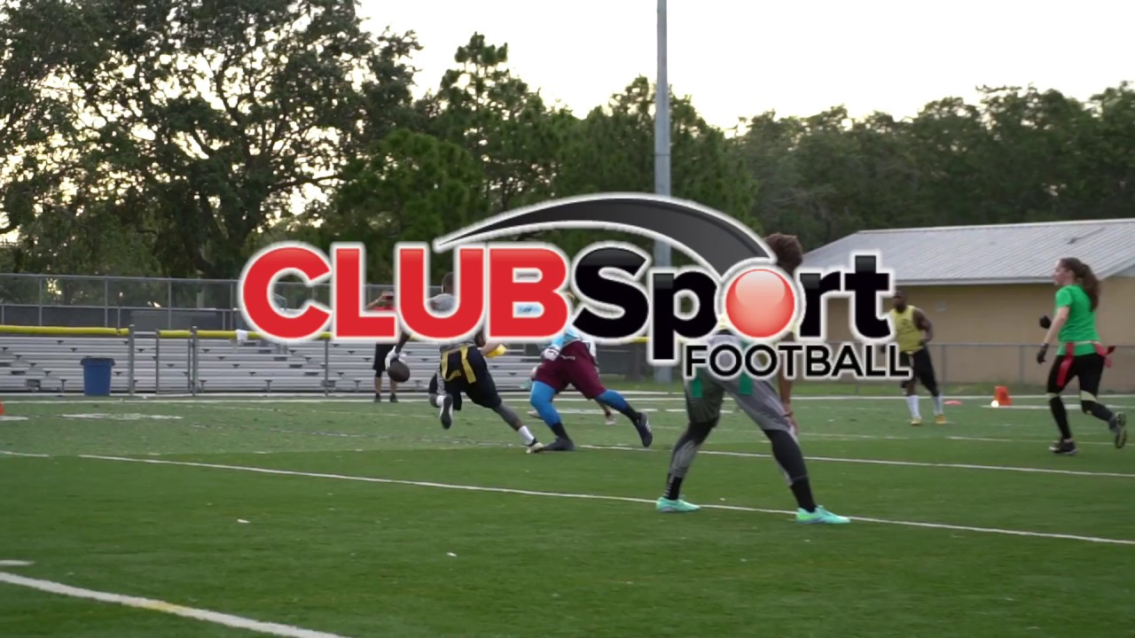Adult Football Leagues by Club Sport