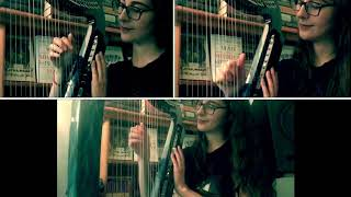 "Kamelot's ""Static"" - Cover for 4 Electric Harps"