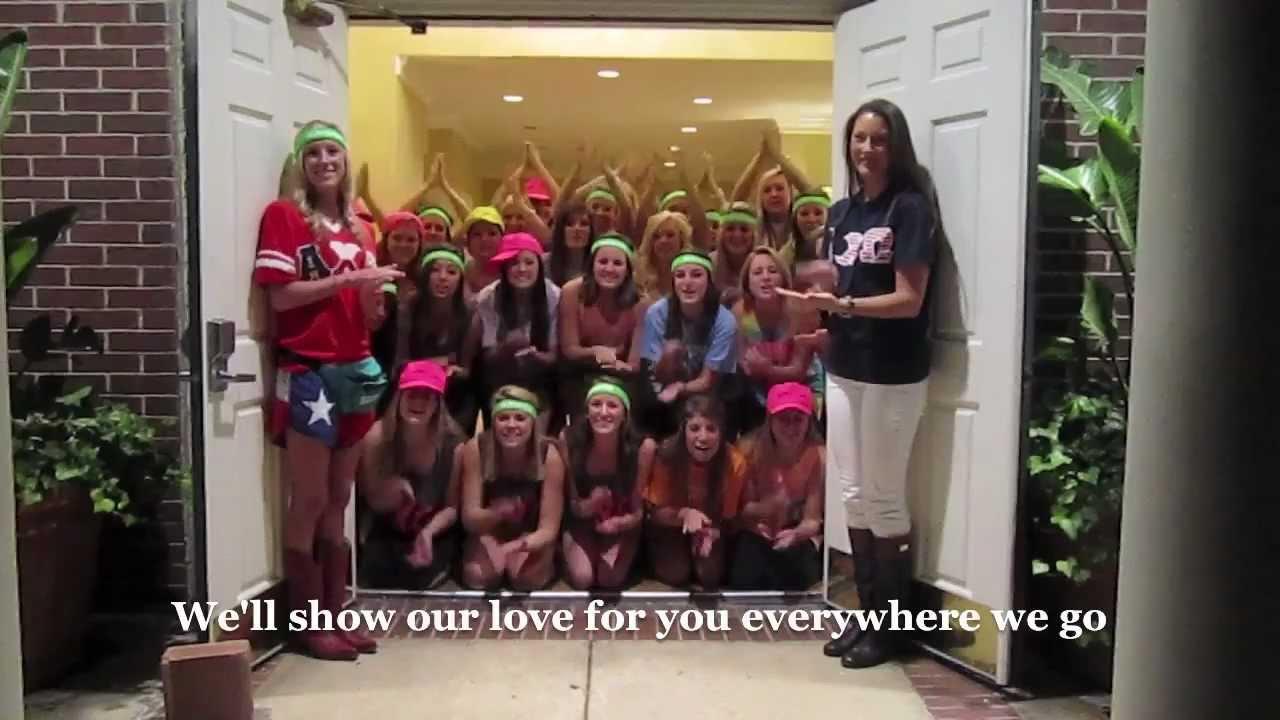 Alpha Chi Omega At Texas A Amp M Loves Jab Youtube