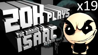 Binding of Isaac Rebirth x19 (you gotta roll with it)
