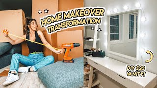 WE MOVED! ☆ EPIC HOUSE TRANSFORMATION pt 1.