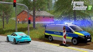 LS17 Polizei Einsatz - Riskante Verfolgungsjagd mit Praktikant endet im Unfall! 💥🚨