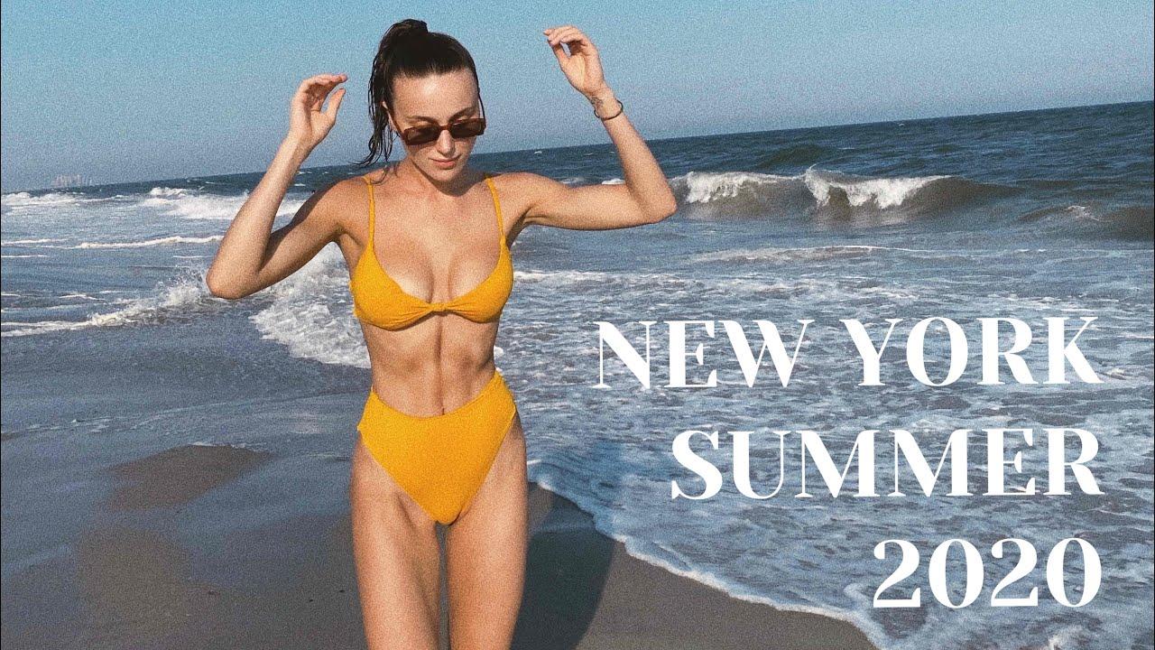 Лето 2020 в Нью Йорке.
