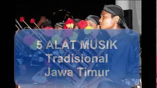 5 Alat Musik Tradisional Jawa Timur paling lengkap