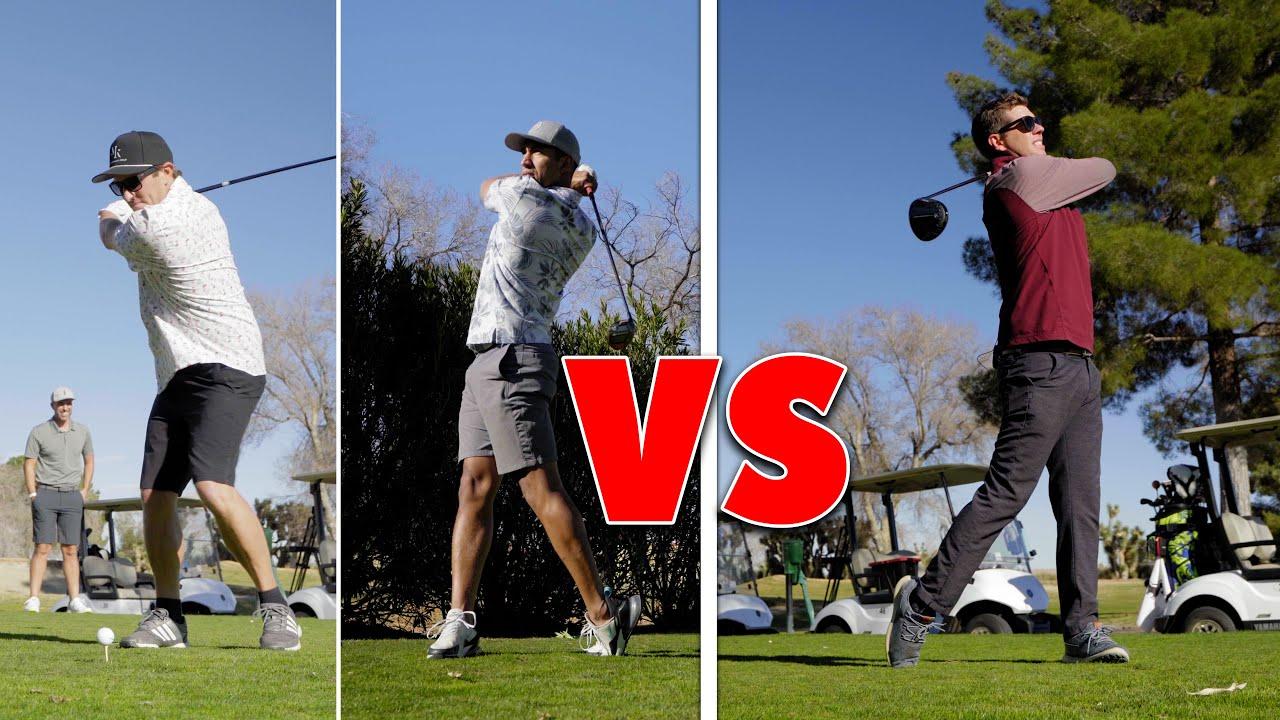 PGA Pro vs 2 Amateurs // 2 Man Scramble vs Pro