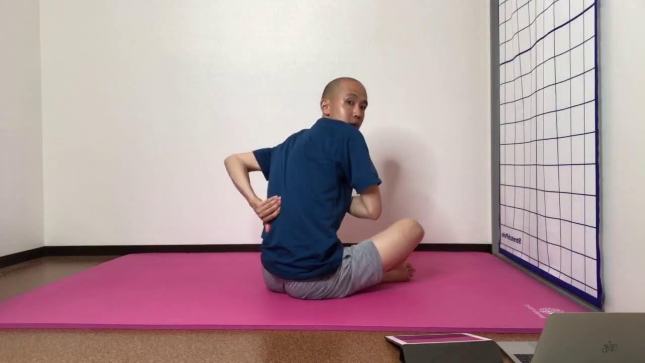 トレーニング時の身体の使い方(部分カット)