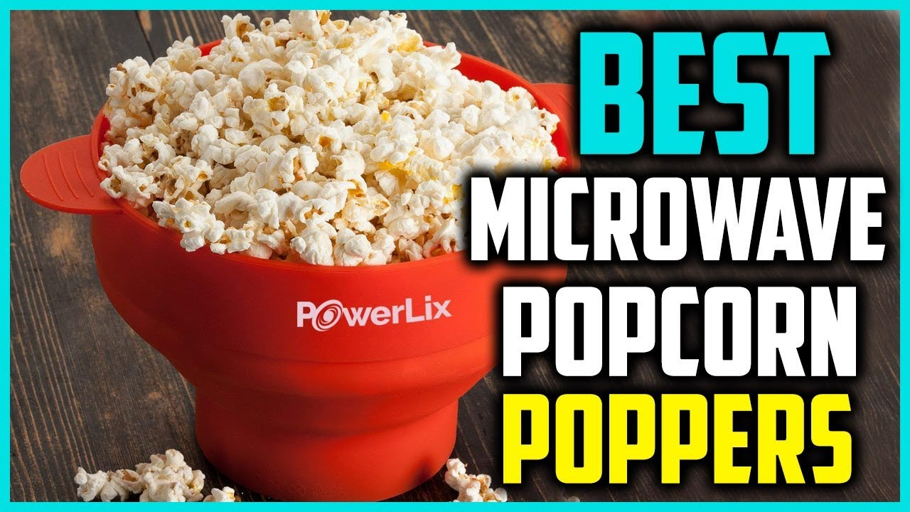 top 5 best microwave popcorn poppers 2018
