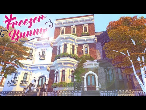 Manhattan Townhouse 🏙️ 🌭 | The Sims 4 | Speed Build | CC Free + Download Links