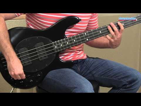 Music Man StingRay 4 HH Electric Bass Guitar Demo - Sweetwater Sound