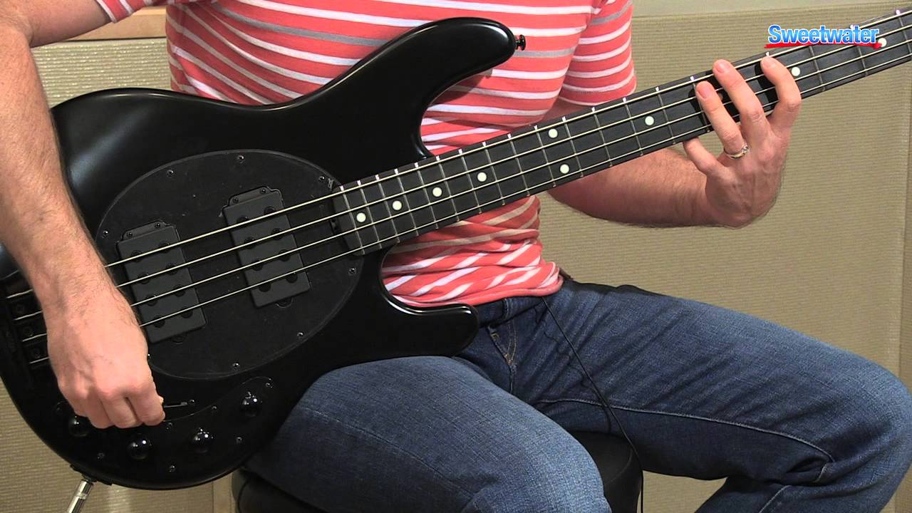 music man stingray 4 hh electric bass guitar demo sweetwater sound youtube. Black Bedroom Furniture Sets. Home Design Ideas