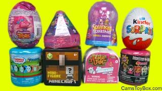 Toy Surprises Trolls Egg Crystal Surprise Babies Monster High Fashem Animal Jam Squinkies Squashies