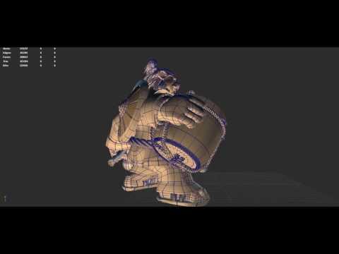 3D model CHEN STORMSTOUT World of Warcraft -1080p60