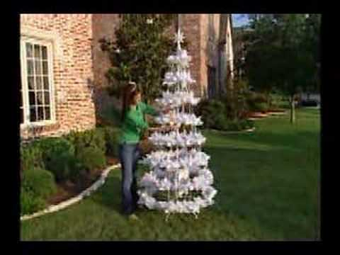 The Incredible Holiday Light Show - 7½FT White Single Tree