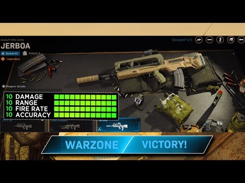 #1 OVERPOWERED Jerboa Loadout In Warzone! (FR 5.56 Loadout MW Warzone)