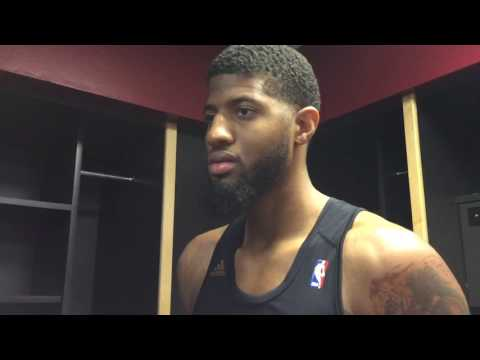 Paul George on whether or not he's All-NBA first team