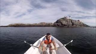 Nubble Lighthouse, York, Maine in 360 Degree VR