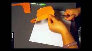 Paper Cutting How-To (5) How to cut a pumpkin