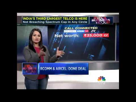 RCOMM, AIRCEL DEAL SEALED