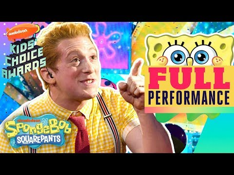 Best Day Ever & Theme Song Performed By SpongeBob The Musical Cast At 2019 Kids' Choice Awards