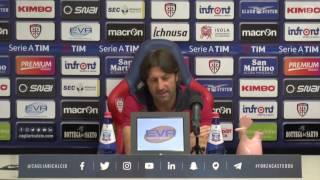 Cagliari-Palermo, la conferenza stampa della vigilia