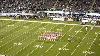 Jets Flight Crew Cheerleaders Pregame Routine & Kickline 2011 (New York Jets v. Dolphins 10.17.11)