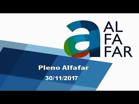 Emisión en directo de l'Ajuntament Alfafar 30 noviembre 2017