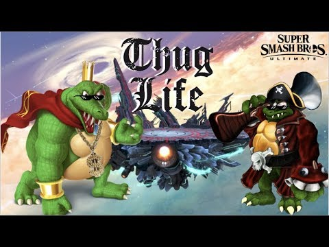 Smash Bros Ultimate King K Rool Montage! Highlights, Funny Plays, Combos Compilation