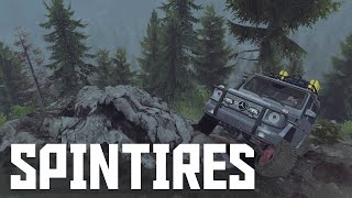Mercedes G320 CDi on Fairy Trail | SpinTires