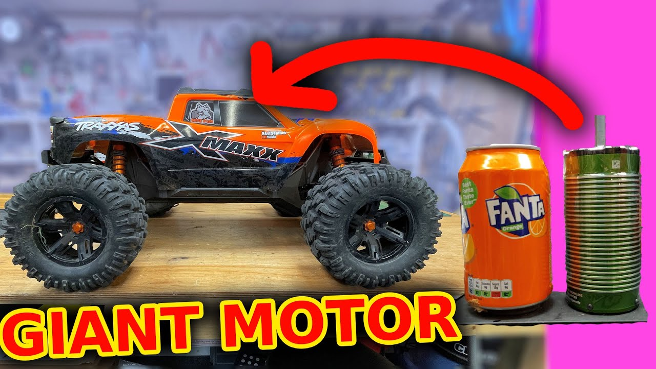 Giant Motor in RC car complete overkill?