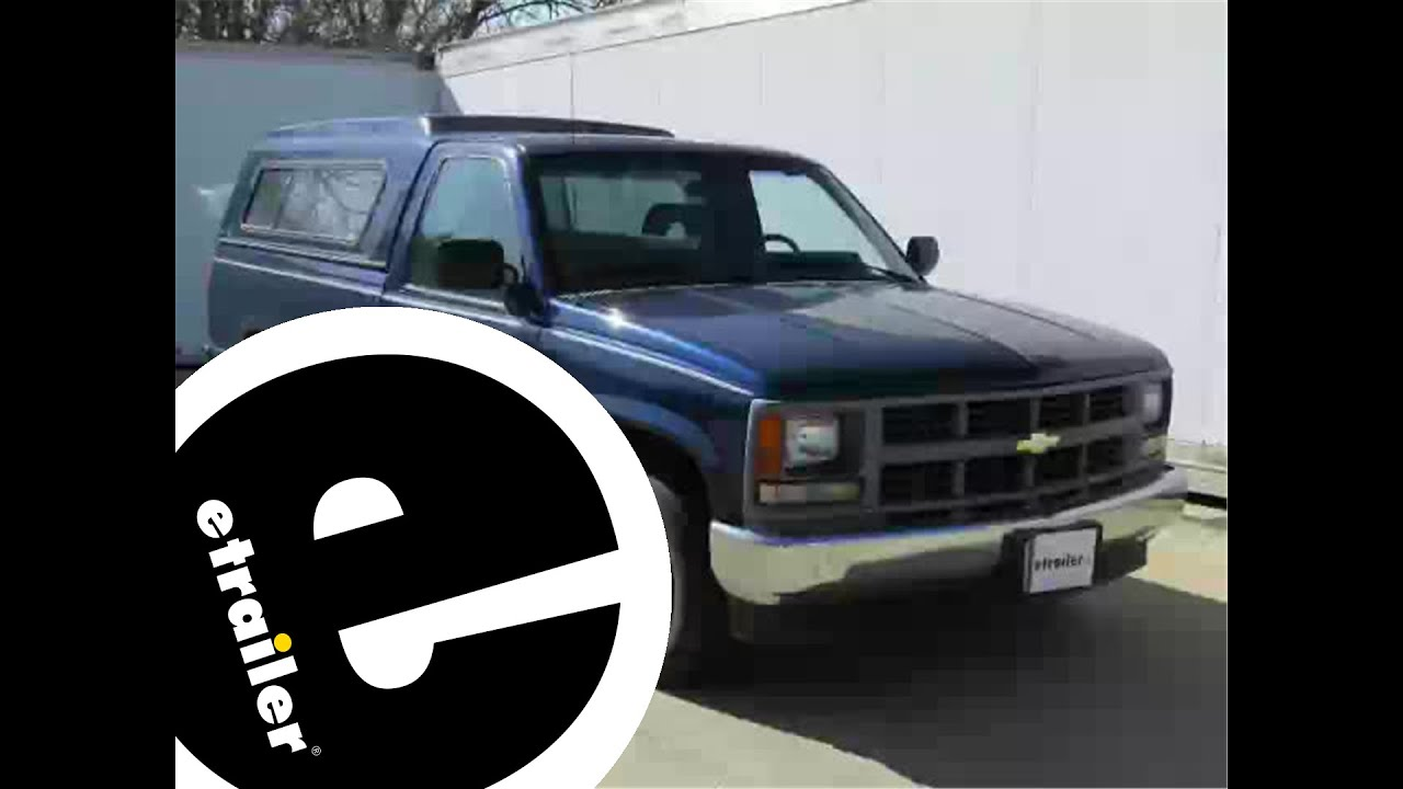 hight resolution of trailer brake controller installation 1994 chevrolet c k series pickup etrailer com