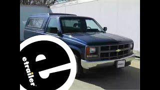 Installation of a Trailer Brake Controller on a 1994 Chevrolet C/K Series Pickup - etrailer.com