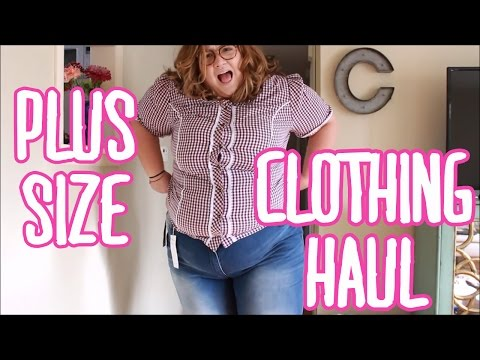 PLUS SIZE CLOTHING HAUL AND TRY ON WITH ULLA POPKEN
