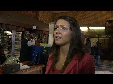 Oscar Pistorius supporter attends S. Africa murder trial