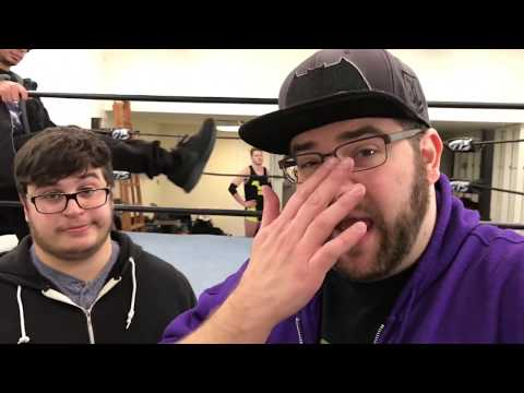 BROKE BRANDON NEEDS GTS! Real Behind the Scenes Meeting CAUGHT ON CAMERA! GTS WRESTLING SUPERCARD!