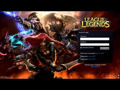 League of Legends - Dominion login screen Music + Animation (HD)