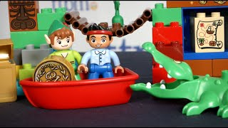 Lego Duplo Jake And The Never Land Pirates Peter Pan's Visit From Lego