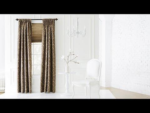 Window Treatment Ideas from Lowe's