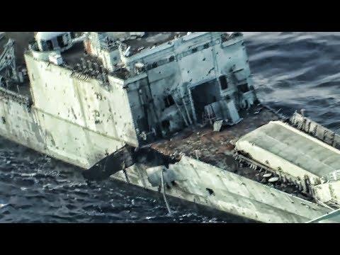 Missiles And Torpedo Sink Ship • SINKEX RIMPAC 2018