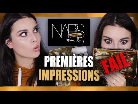 NARS X MAN RAY COLLECTION HOLIDAY 2017 : PREMIÈRES IMPRESSIONS (FAIL)